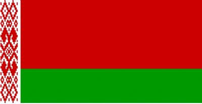 BELARUS - HAND WAVING FLAG (MEDIUM)